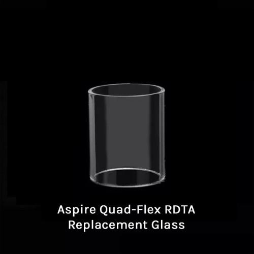 Neutral Aspire Quad-Flex RDTA Replacement Glass