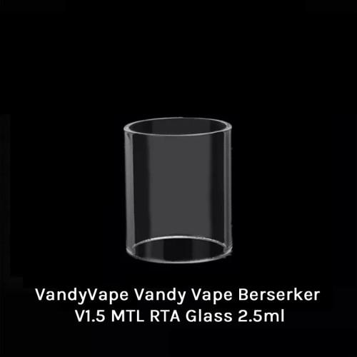 Vandy Vape Berserker V1.5 MTL RTA Glass 2.5ml
