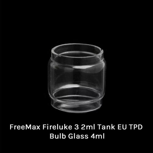 FreeMax Fireluke 3 2ml Tank EU TPD Glass