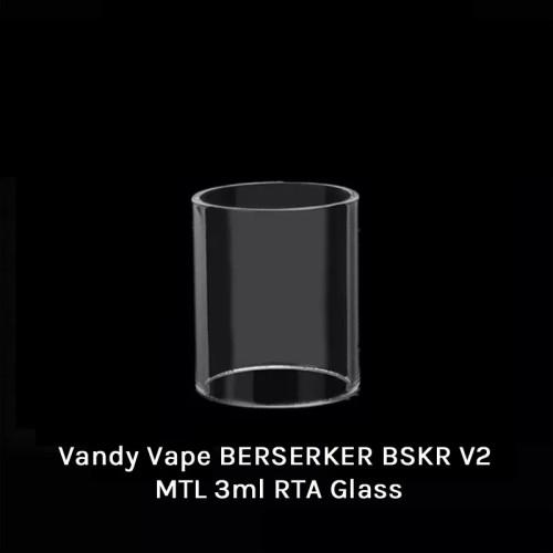 Vandy Vape BERSERKER BSKR V2 MTL 3ml RTA Glass