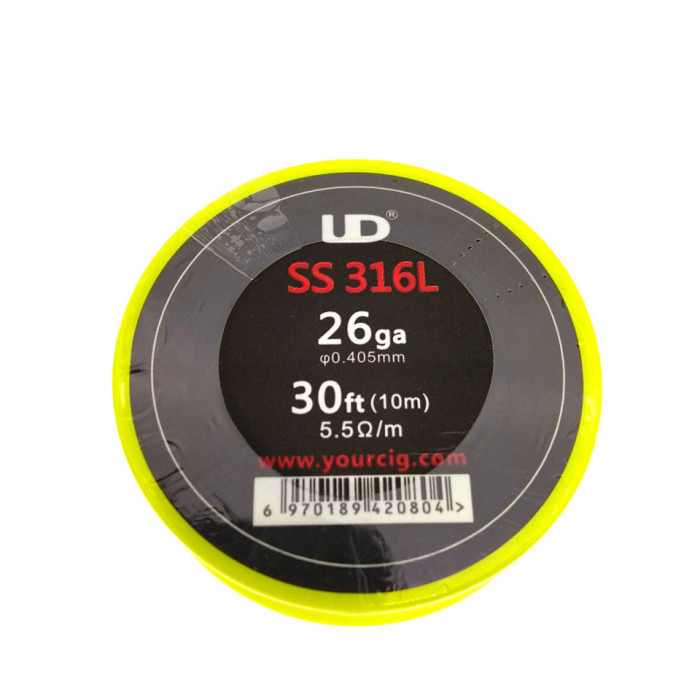 UD SS316L Wire 30FT (24/26/28GA)