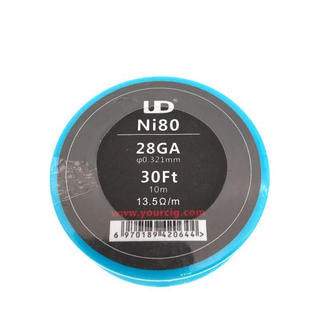 UD Ni80 Wire 30FT (24/26/28GA)