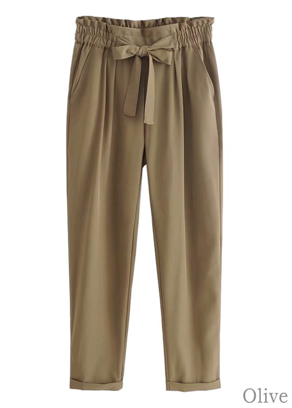 Paperbag Waist Pants - Size M