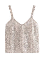 Sequined Cami Top