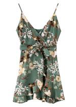 Silky Floral Mini Dress