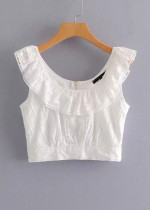 Crop Top in White