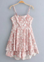 Tie Back Floral Romper ( in 2 Colors )