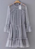 Sheer Mesh Dress ( in 2 Colors )