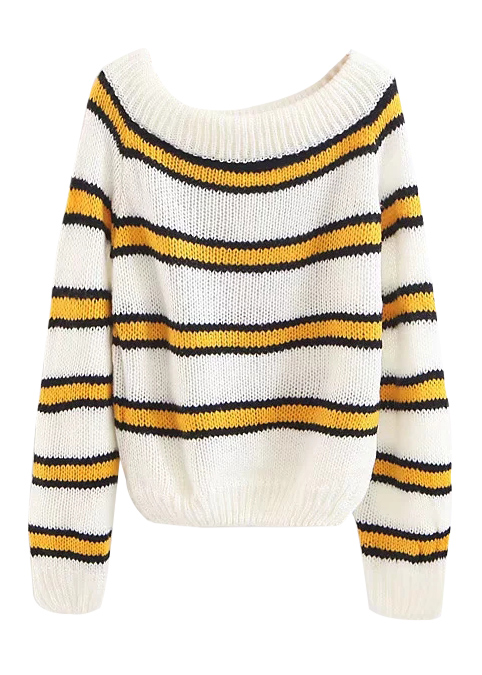 Stripe Sweater ( in 2 Colors )
