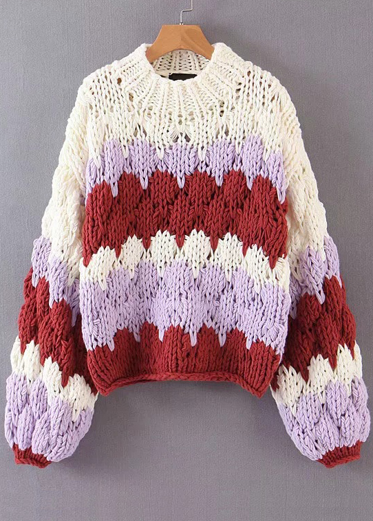 O-Neck Sweater ( in 2 Colors )