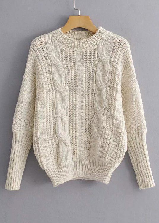 O-Neck Sweater ( in 4 Colors )
