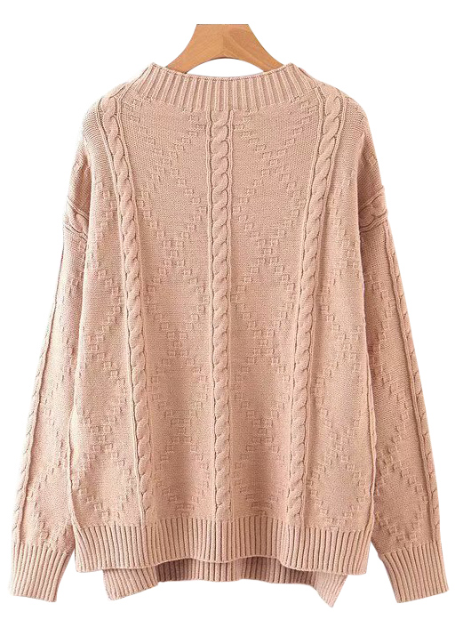 Knit Pullover ( in 2 Colors )