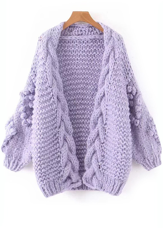 Open Front Knit Cardigan ( in 2 Colors )