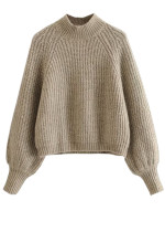 Mock Neck Sweater ( in 3 Colors )