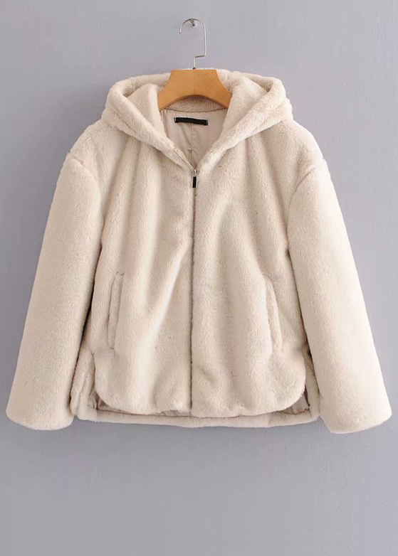 Faux Shearling Jacket ( in 2 Colors )