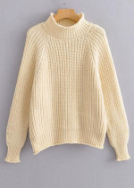 Mock Neck Sweater ( in 4 Colors )