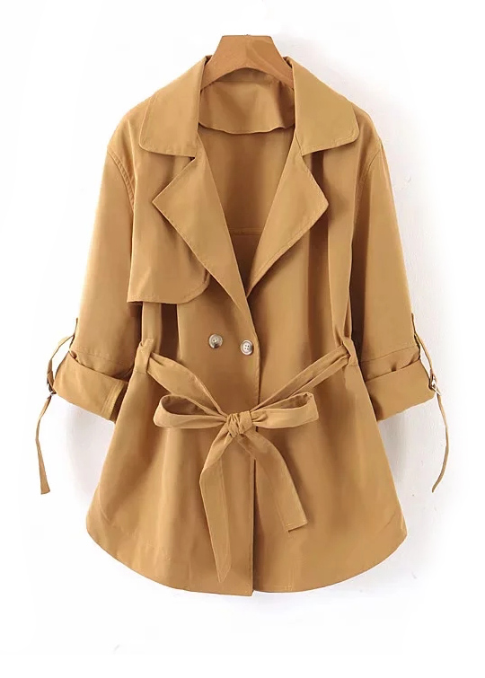 Trench Coat ( in 2 Colors )