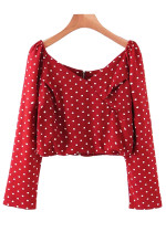 Dot Blouse ( in 2 Colors )