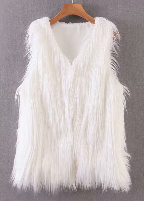 Faux Fur Vest ( in 3 Colors )