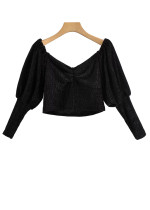 Crop Top in Black