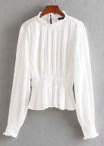 Ruffle Blouse ( in 2 Colors )
