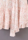 Knot Detail Floral Dress