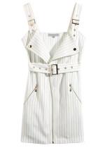 Tank Dress in White Stripe