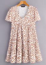 White Spot Dress