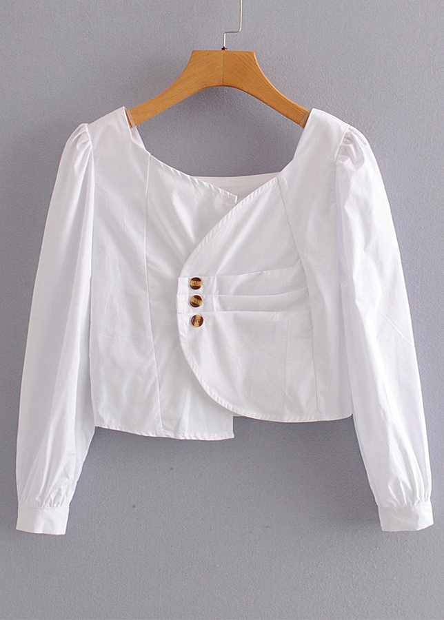 Crop Blouse ( in 3 Colors )