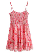 Mini Dress in Pink Floral