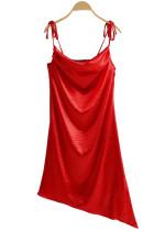 Asymmetrical Hem Dress ( in 5 Colors )