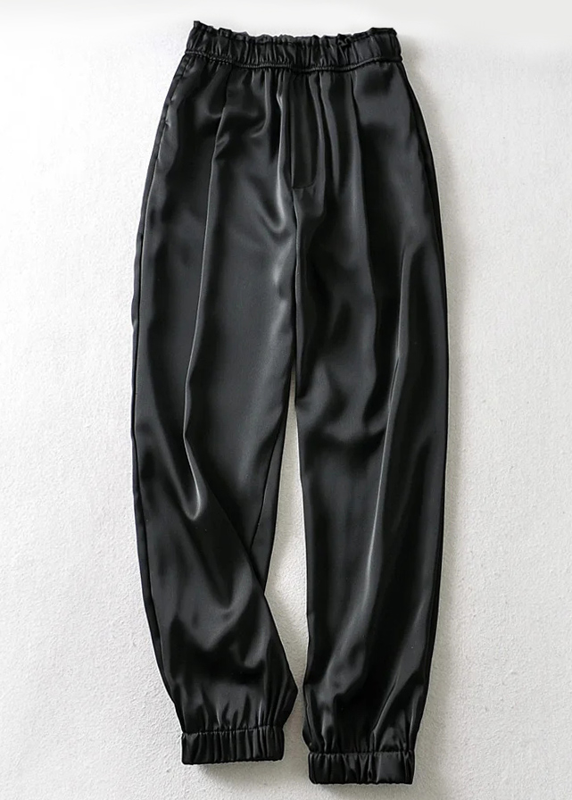 High Waisted Silky Sweatpants