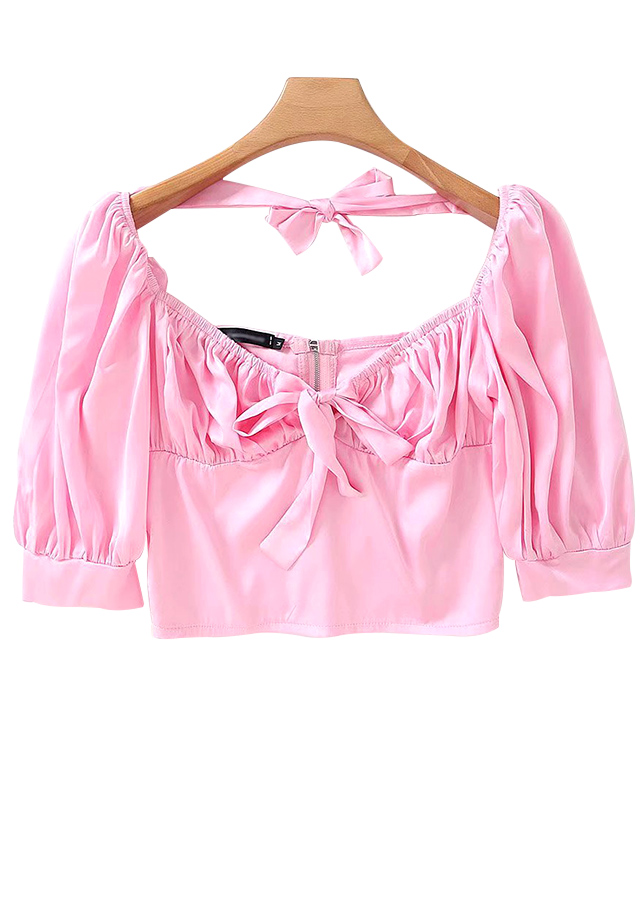 Silky Crop Top ( in 3 Colors )