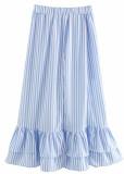 Striped Set ( Crop Top & Skirt )