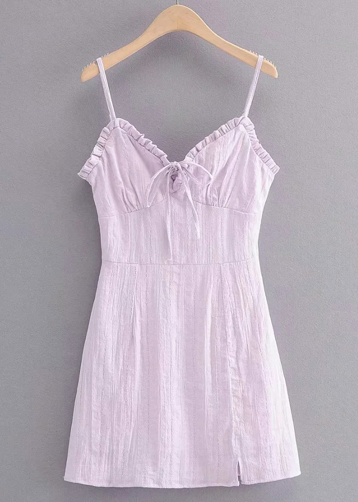 Mini Dress in Lavender