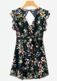 Open Back Floral Dress ( in 2 Colors )
