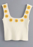 Knit Crop Top ( in 4 Colors )