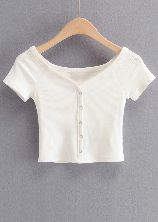 Knit Crop Top ( in 5 Colors )