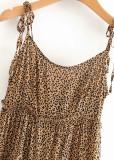 Leopard Mini Dress ( in 2 Colors )