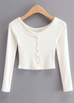 Knit Crop Blouse ( in 5 Colors )