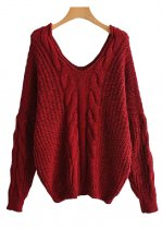V-Neck Sweater ( in 4 Colors )