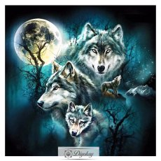 Diamond Painting - Multi-style wolf