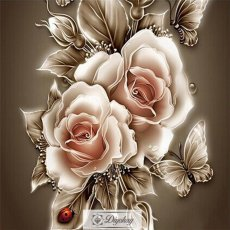 Diamond Painting - Beautiful flower