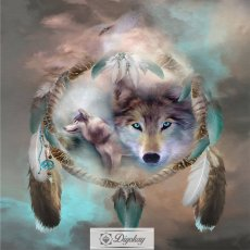 Diamond Painting - Wolf Totem 1