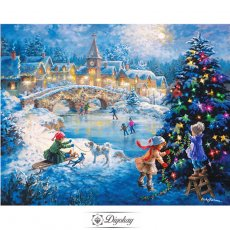 Diamond Painting - Arranging Christmas