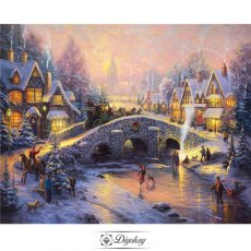 Diamond Painting - Christmas atmosphere