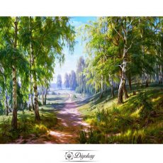 Diamond Painting - Forest