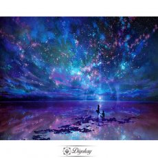 Diamond Painting - Starry sky