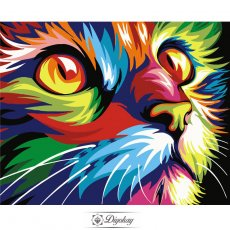 Diamond Painting - Color cat
