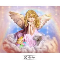 Diamond Painting - Cute little angel